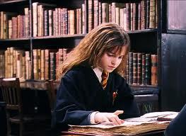 Harry Potter's Hermione Granger, an excellent student.